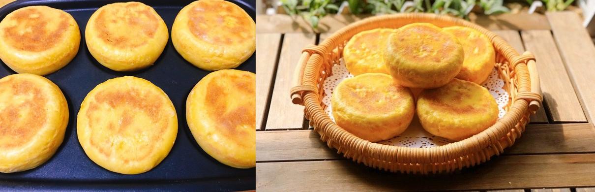 Bánh bí đỏ mềm ngọt dễ làm chẳng cần lò nướng - Ảnh 4.