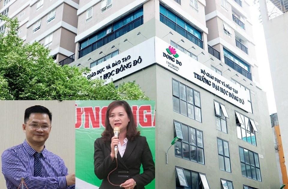 Hé lộ vai trò của 2 Hiệu phó trường đại học Đông Đô vừa bị bắt - Ảnh 1.