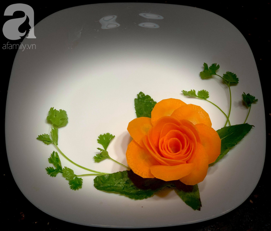 """Cách tạo hình hoa hồng với cánh mong manh siêu đẹp """"bất bại"""" - Ảnh 8."""