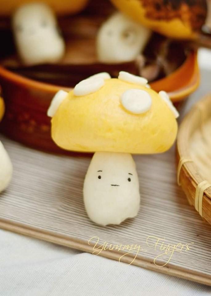 Bánh bao sữa siêu cute - Ảnh 2.