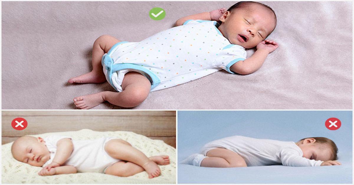 Trẻ ngủ sai tư thế: Mẹ sai lầm, con gánh hậu quả - Ảnh 1.