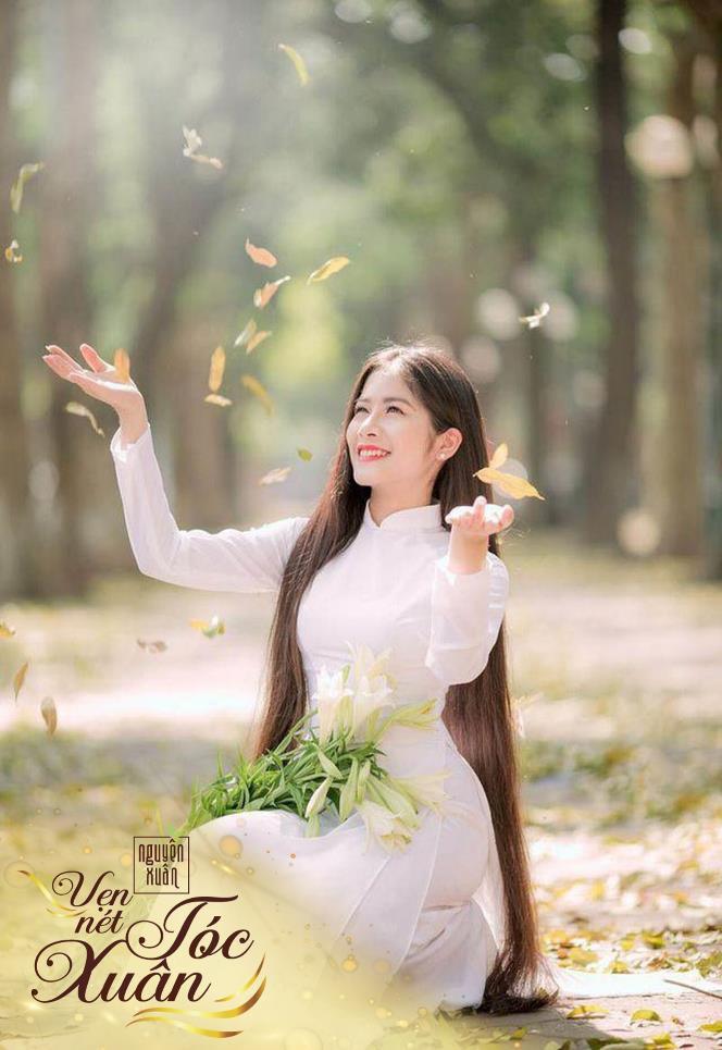 Mái tóc đen dài suôn mượt làm nên vẻ đẹp vượt thời gian của phụ nữ Việt - Ảnh 3.