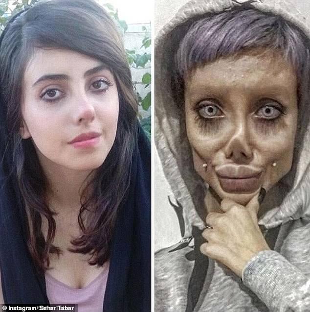 """Bản sao """"xác sống"""" của Angelina Jolie bị cảnh sát bắt giữ vì những lời vạ miệng trên mạng xã hội - Ảnh 4."""
