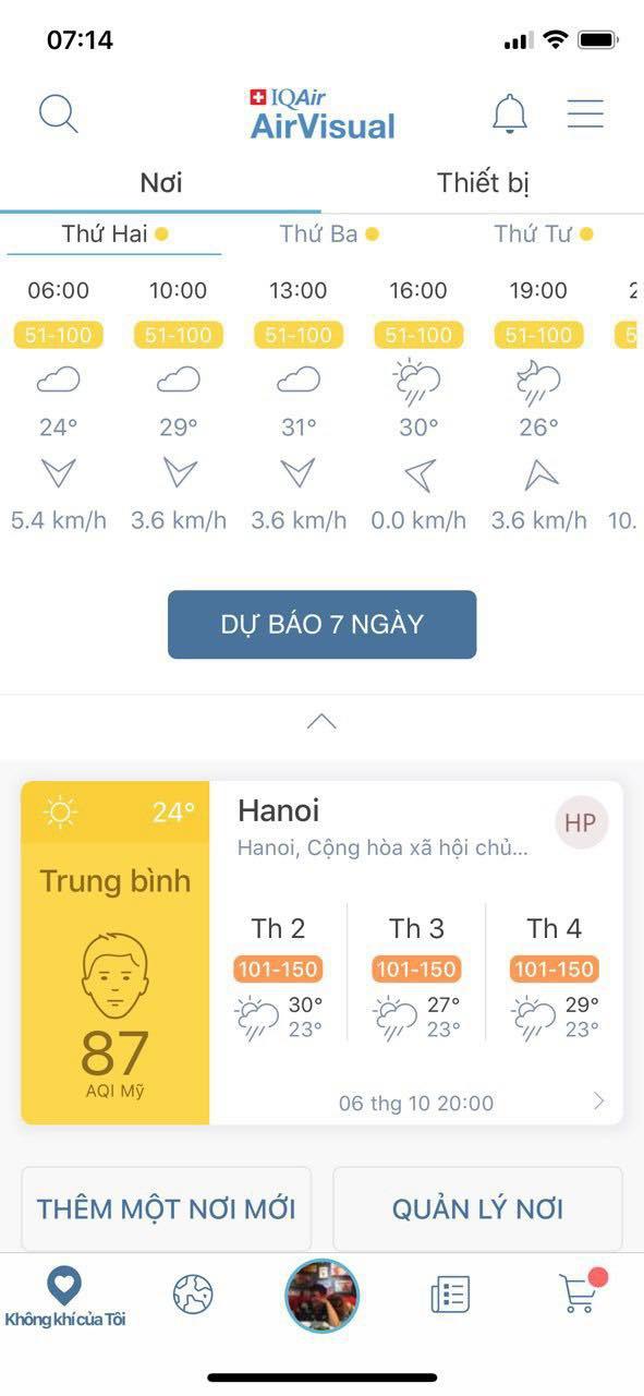Ứng dụng cho chỉ số chất lượng không khí được nhiều người tin dùng AirVisual bất ngờ biến mất ở các kho ứng dụng trên điện thoại tại Việt Nam - Ảnh 3.