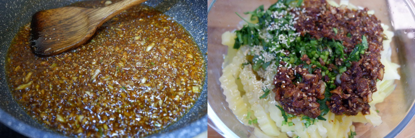 Khoai tây trộn làm nhanh mà ngon lạ - Ảnh 4.