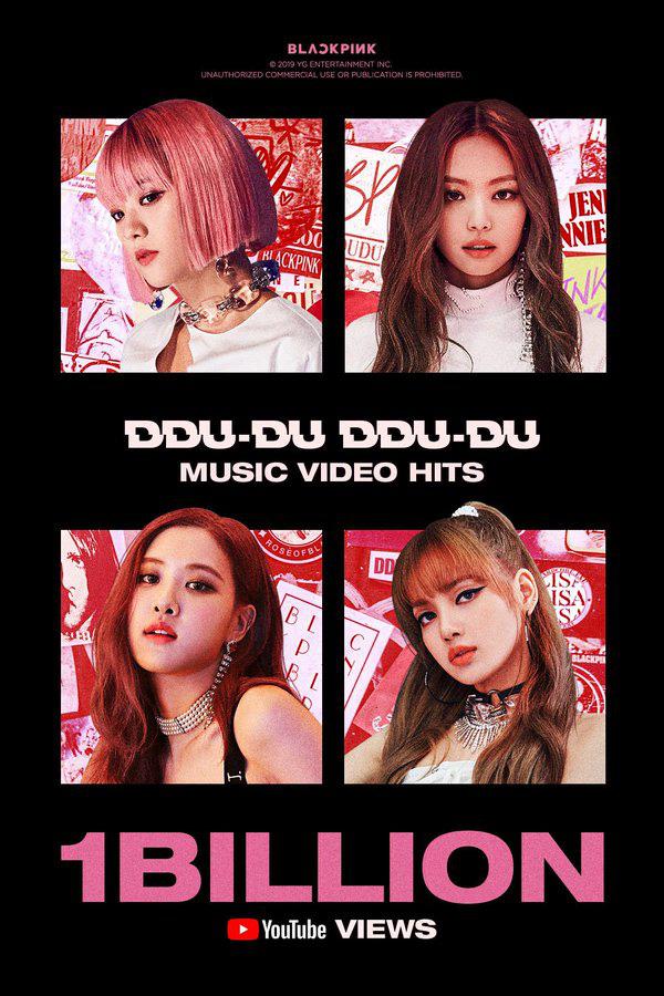 """Từng thua tức tưởi MV của BTS, """"DDU-DU DDU-DU"""" đạt 1 tỷ lượt xem, giúp BLACKPINK là nhóm nhạc Kpop đầu tiên làm được điều này - Ảnh 3."""