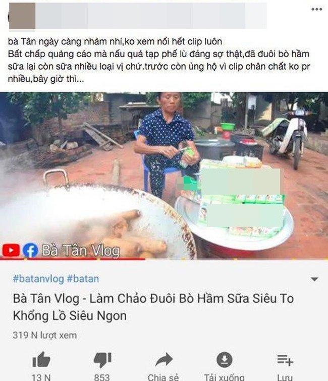 """Bà Tân Vlog tuyên bố thay đổi cách làm clip, ai ngờ lại bị dân mạng soi đi """"sao chép"""" ý tưởng của kênh ẩm thực nổi tiếng khác - Ảnh 9."""