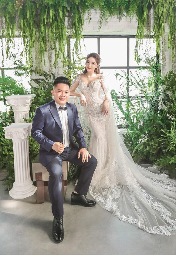 Ngay sau đám cưới Đông Nhi, Bảo Thy cũng khoe 3 mẫu váy cưới đẹp mê hồn, chuẩn bị lên xe hoa với chồng đại gia - Ảnh 3.