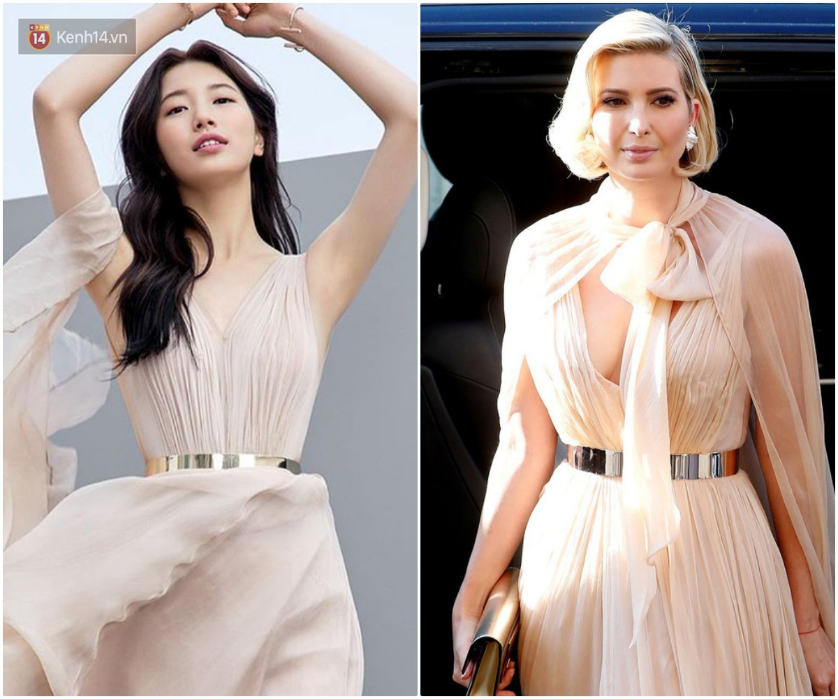 Sửa váy cho kín đáo chứ không 'lồ lộ' như Ivanka Trump, Suzy khẳng định: Vòng 1 khủng hơn chưa chắc đã mặc đẹp hơn! - Ảnh 6.