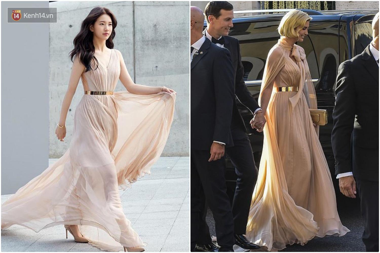 Sửa váy cho kín đáo chứ không 'lồ lộ' như Ivanka Trump, Suzy khẳng định: Vòng 1 khủng hơn chưa chắc đã mặc đẹp hơn! - Ảnh 7.