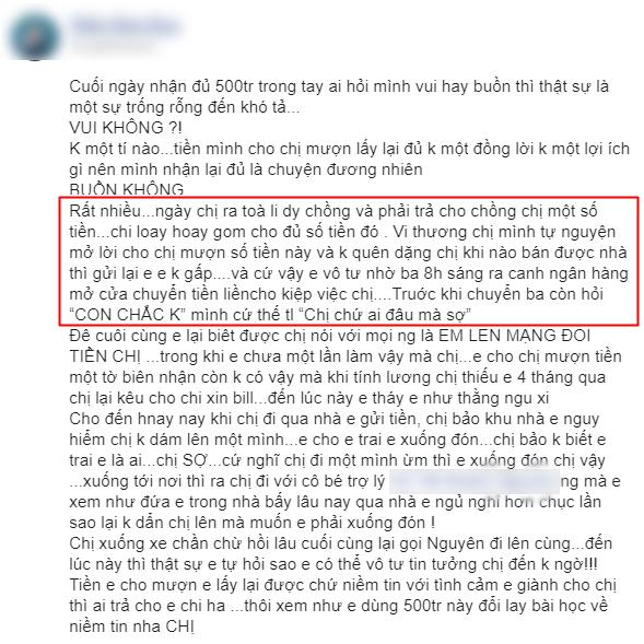 """Thông tin vụ ly hôn của Thanh Bình - Ngọc Lan bất ngờ được hé lộ thông qua một đoạn status """"chỉnh đi sửa lại""""? - Ảnh 2."""