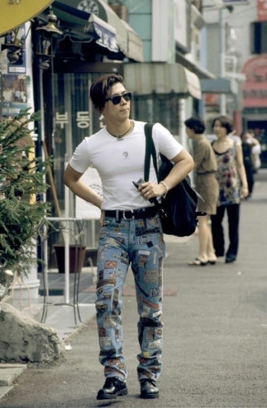 Nam thanh nữ tú xứ Hàn những năm 90: Lên đồ chặt chém, bắt trend - Ảnh 13.