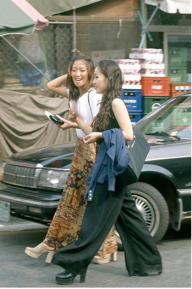 Nam thanh nữ tú xứ Hàn những năm 90: Lên đồ chặt chém, bắt trend - Ảnh 3.
