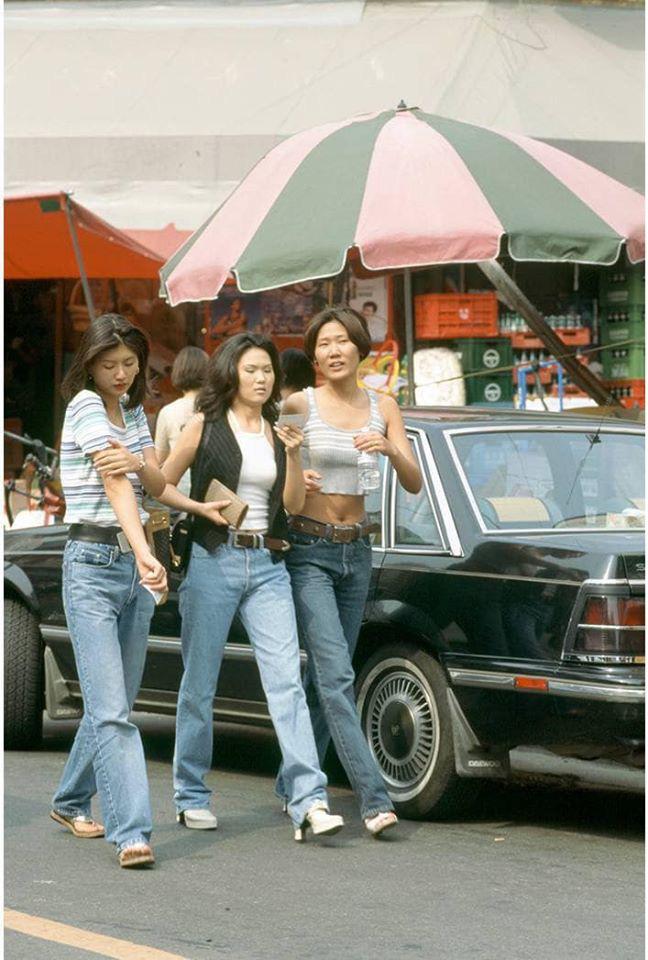 Nam thanh nữ tú xứ Hàn những năm 90: Lên đồ chặt chém, bắt trend - Ảnh 2.