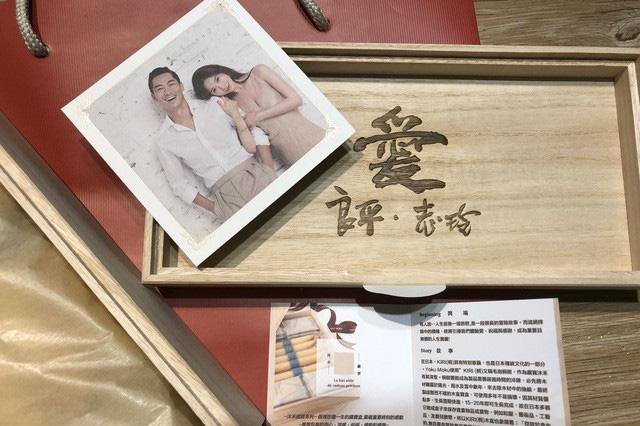 Những hình ảnh đầu tiên về thiệp cưới của Lâm Chí Linh: Phong cách đơn giản mà sang trọng, mang ý nghĩa đặc biệt - Ảnh 3.