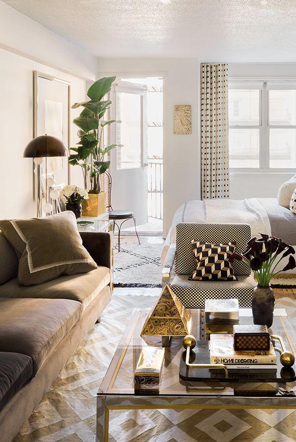 12 ý tưởng biến căn hộ studio hiện lên đẹp thoáng chẳng kém nhà cao cửa rộng - Ảnh 11.