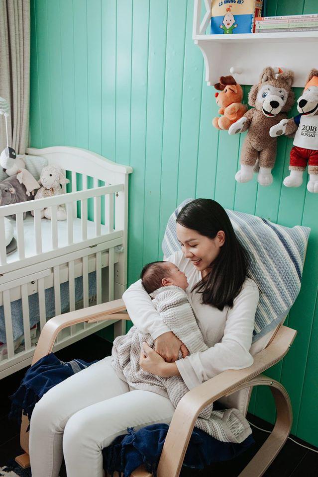 Sinh con lần 3, bà xã xinh đẹp của ca sĩ Hoàng Bách tiết lộ lý do chỉ cần kiêng cữ 2 tuần sau sinh - Ảnh 5.