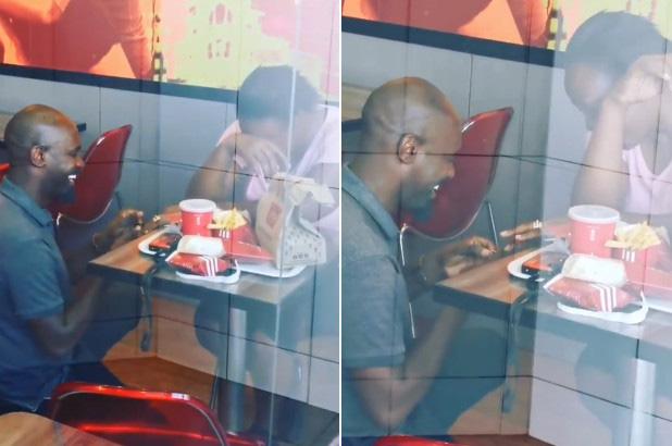 """Cầu hôn bạn gái ở KFC, người đàn ông bị mỉa mai là nghèo kiết xác và cái kết """"gieo nhân nào gặt quả ấy"""" - Ảnh 1."""