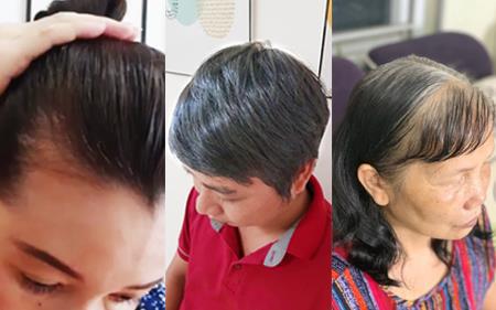 Nhà bao việc nhưng các mẹ vẫn rần rần chia sẻ bí kíp phủ đen tóc bạc siêu nhanh siêu an toàn - Ảnh 1.