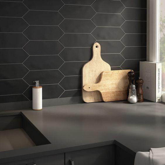Những ý tưởng trang trí nhà bếp màu đen siêu ấn tượng - Ảnh 3.