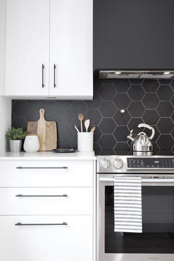 Những ý tưởng trang trí nhà bếp màu đen siêu ấn tượng - Ảnh 6.