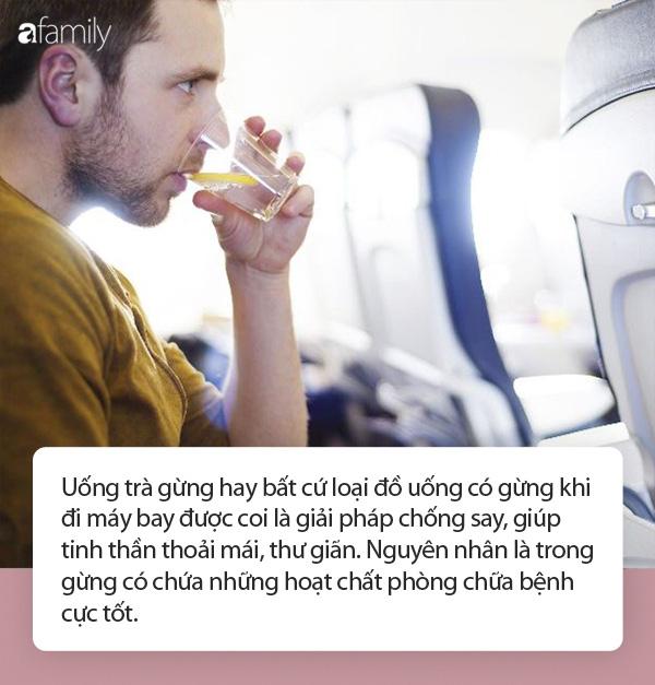 Tại sao bạn luôn cần mang theo trà gừng trong mỗi chuyến bay? - Ảnh 3.