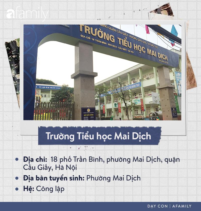 Danh sách các trường tiểu học tại quận Cầu Giấy: Chiếm gần một nửa là hệ ngoài công lập, ghi dấu ấn với trường Nguyễn Siêu - Ảnh 5.