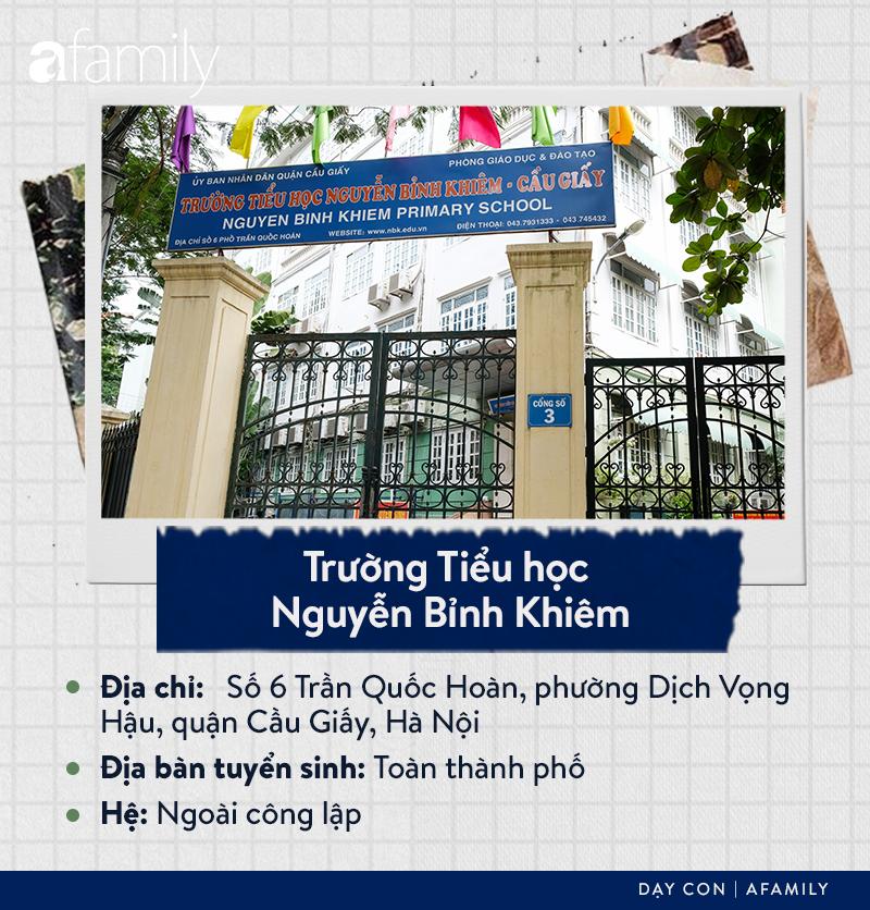 Danh sách các trường tiểu học tại quận Cầu Giấy: Chiếm gần một nửa là hệ ngoài công lập, ghi dấu ấn với trường Nguyễn Siêu - Ảnh 17.