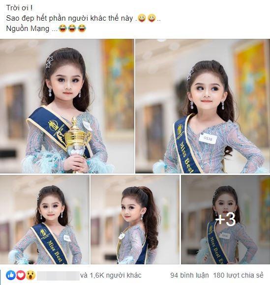 Cô bé người Thái xinh như Hoa hậu làm chao đảo cư dân mạng, khuôn mặt khi không trang điểm lại càng bất ngờ - Ảnh 4.