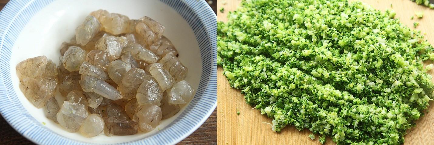 """Đầu tuần bận rộn, tôi làm món cơm chiên """"màu xanh"""" là cả nhà ăn đủ chất mà lại nhanh - Ảnh 2."""