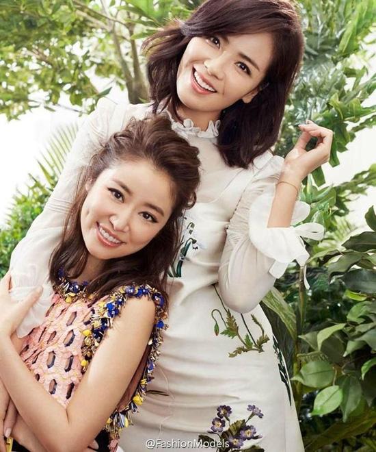 Màn đọ nhan sắc bất phân thắng bại giữa hai bà mẹ Lưu Đào và Lâm Tâm Như, cặp đôi tình bạn từ trong phim đến ngoài đời - Ảnh 4.