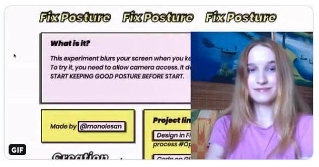 Trang web giúp chị em công sở biết mình có ngồi sai tư thế hay không cực chuẩn xác và hiện đại - Ảnh 3.