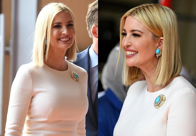 """Đến """"nữ thần"""" Ivanka Trump cũng không thoát khỏi sự nghiệt ngã của thời gian, để lộ vẻ xuống sắc, già nua cùng những chi tiết kém sang - Ảnh 4."""