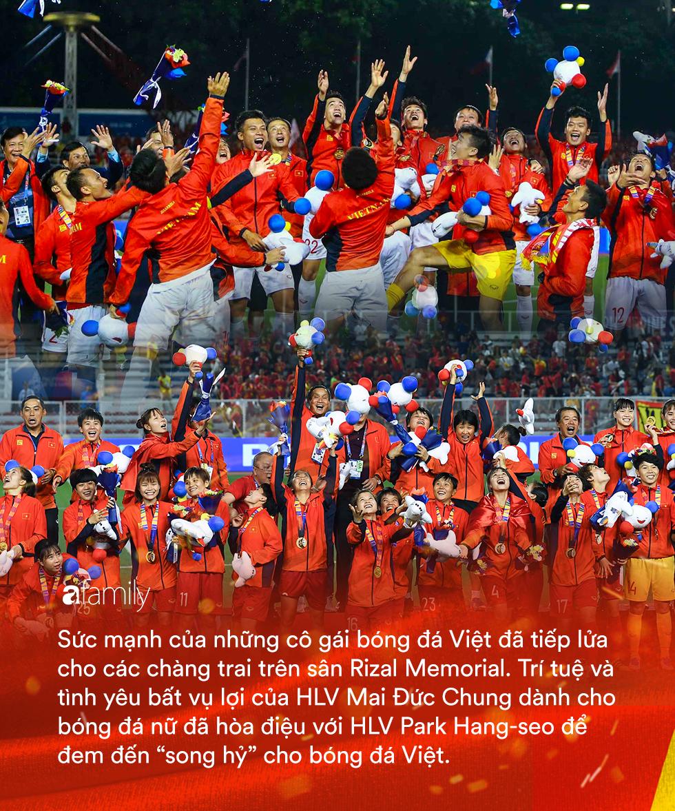 Song hỷ của bóng đá Việt và giấc mơ Vàng 60 năm trở thành sự thật: Không có Lọ Lem hay Thánh Gióng, chỉ có mồ hôi, nước mắt và sự tận hiến - Ảnh 18.