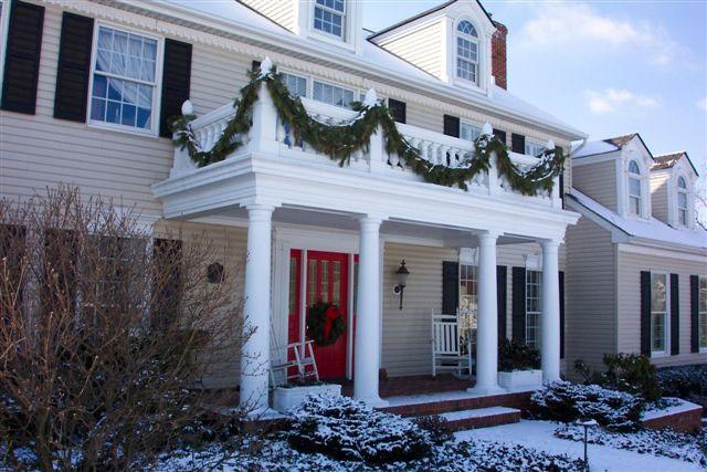 27 ý tưởng trang trí ban công dịp Giáng sinh cực đáng yêu cho mỗi gia đình - Ảnh 26.