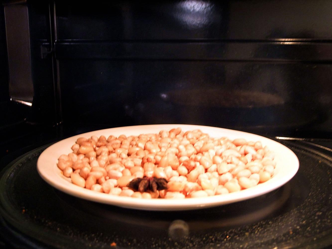 Dùng lò vi sóng làm đậu phộng cay ăn vặt ngày lạnh ngon số 1 - Ảnh 5.