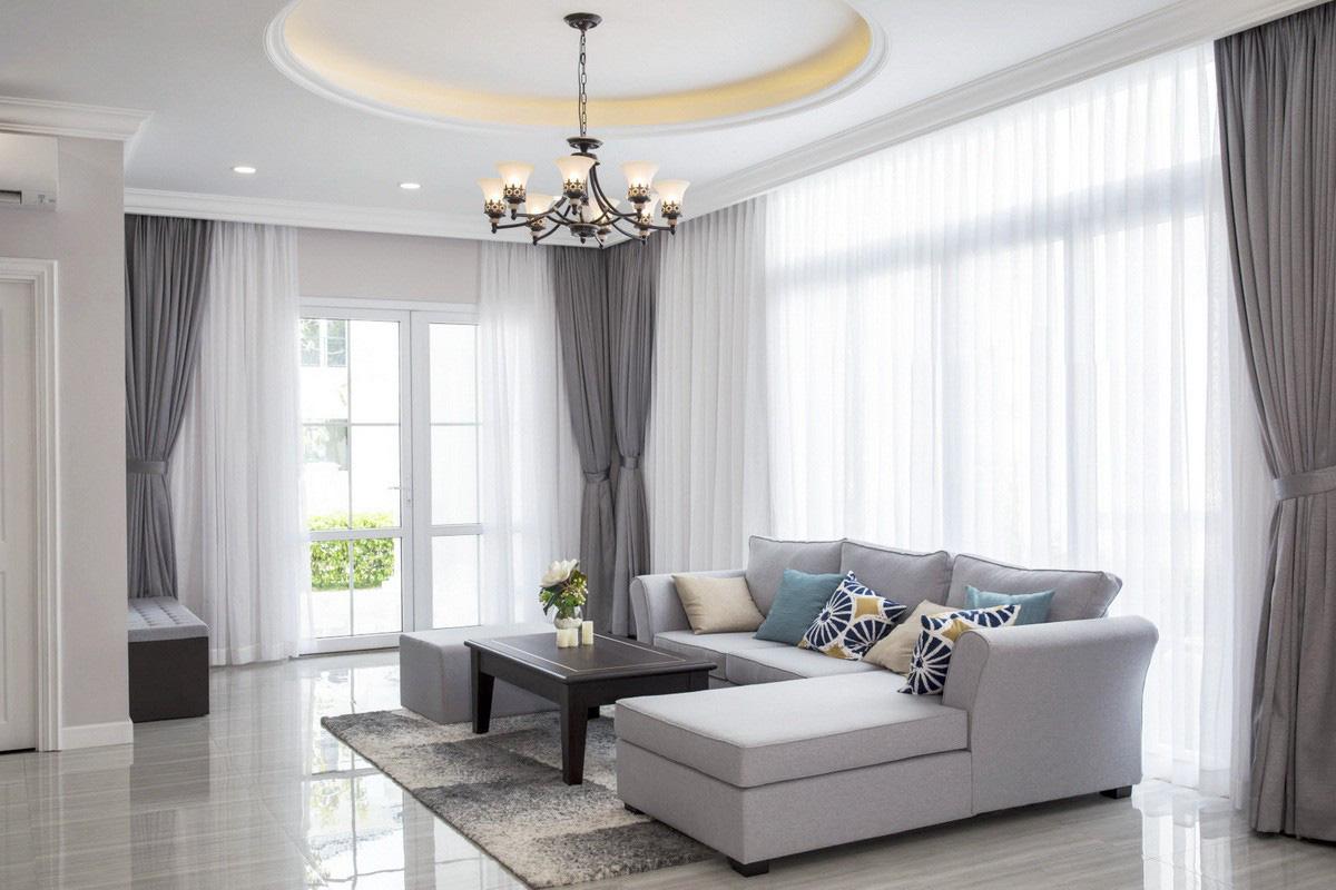 Các loại rèm cửa đẹp, dễ sử dụng và có độ bền cao cho bạn làm đẹp ngôi nhà - Ảnh 2.