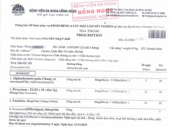 Vụ cháu bé 12 tuổi bị hàng xóm ở KĐT Ciputra đánh chấn thương sọ não: Bố cháu bé lần đầu lên tiếng, tiết lộ nhiều thông tin bất ngờ - Ảnh 2.