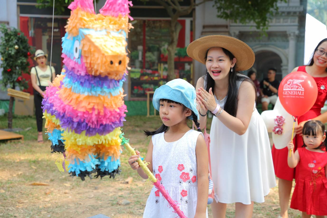 """Hàng ngàn gia đình Việt nô nức trải nghiệm """"nước Ý thu nhỏ"""" tại Sài Gòn - Ảnh 5."""