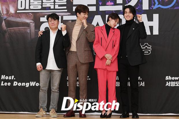 """Gần 20 năm hoạt động trong làng giải trí, đây là lần đầu tiên """"Thần chết"""" Lee Dong Wook công khai thể hiện hành động thân mật với một sao nữ - Ảnh 2."""