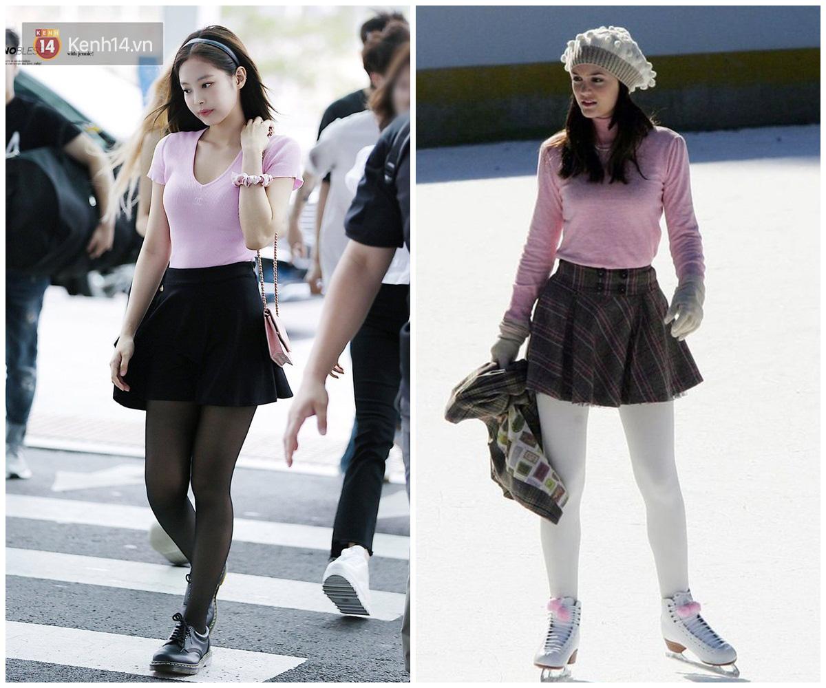 Jennie được ví von giống biểu tượng thời trang đình đám phim Gossip Girl: Từ trang phục đến thần thái đều quá xuất sắc - Ảnh 1.