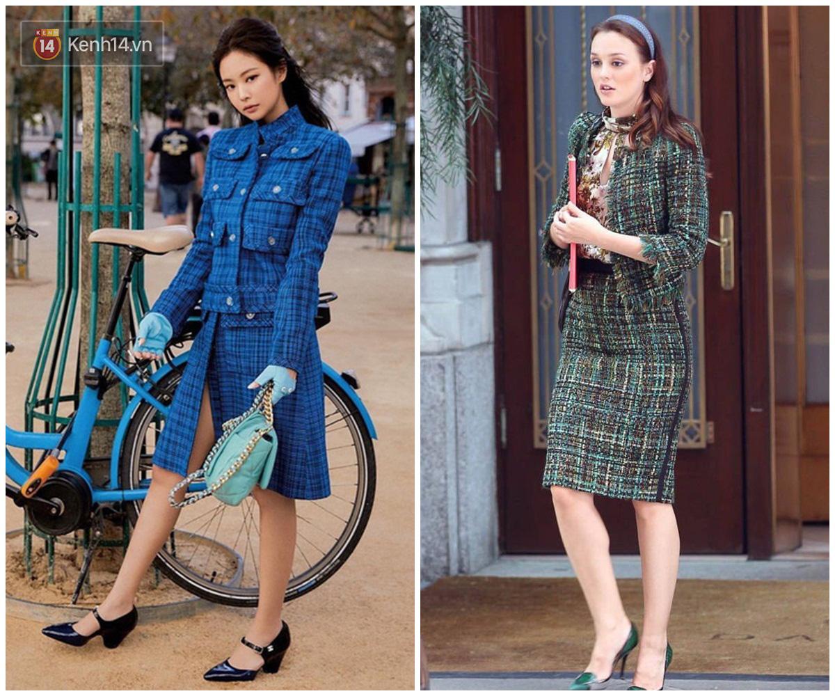 Jennie được ví von giống biểu tượng thời trang đình đám phim Gossip Girl: Từ trang phục đến thần thái đều quá xuất sắc - Ảnh 4.