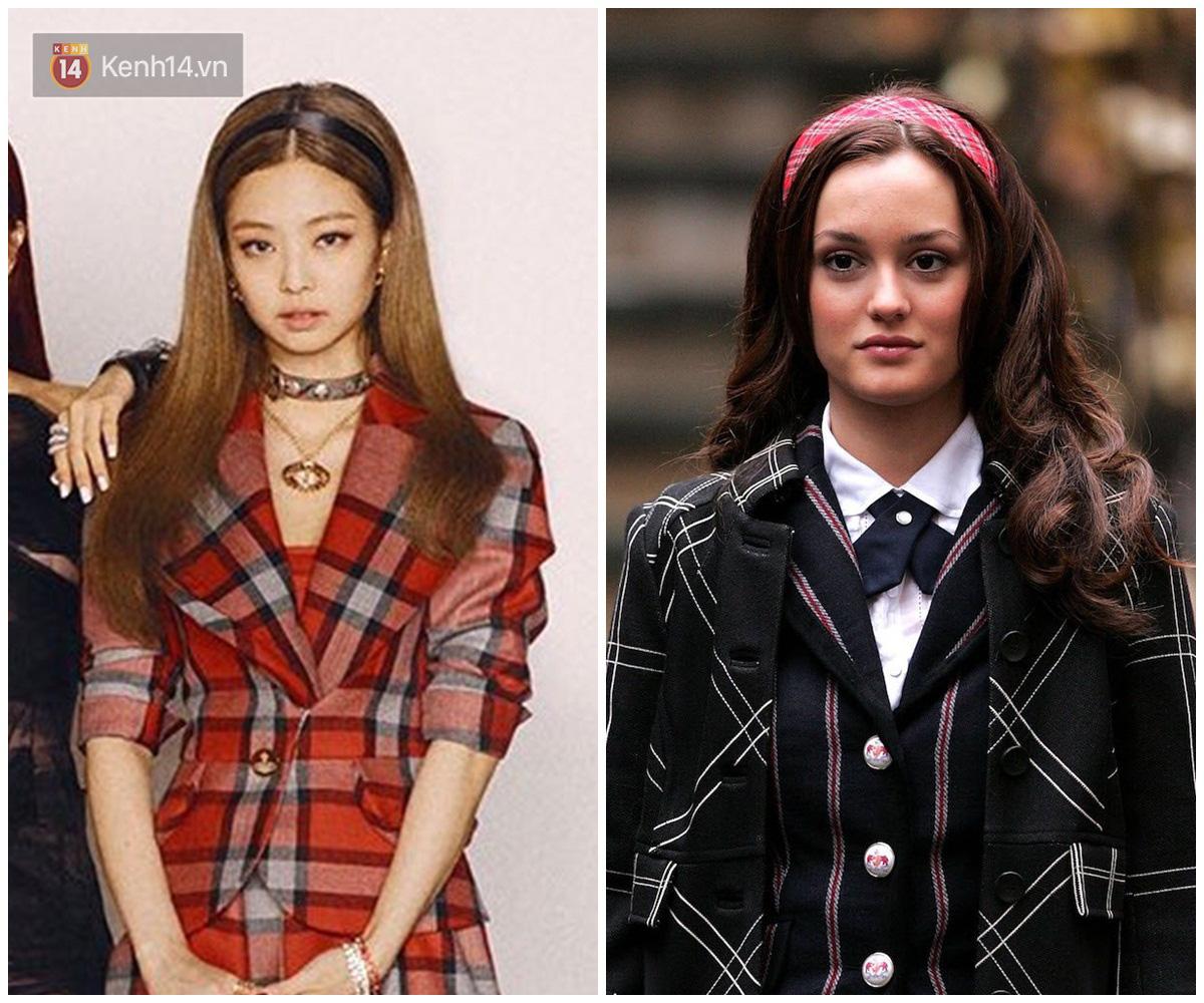 Jennie được ví von giống biểu tượng thời trang đình đám phim Gossip Girl: Từ trang phục đến thần thái đều quá xuất sắc - Ảnh 5.