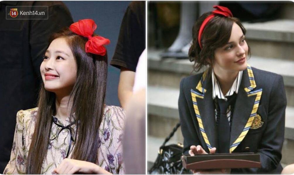 Jennie được ví von giống biểu tượng thời trang đình đám phim Gossip Girl: Từ trang phục đến thần thái đều quá xuất sắc - Ảnh 3.