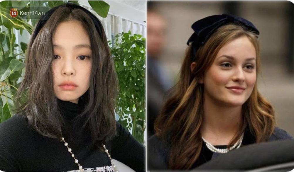 Jennie được ví von giống biểu tượng thời trang đình đám phim Gossip Girl: Từ trang phục đến thần thái đều quá xuất sắc - Ảnh 2.
