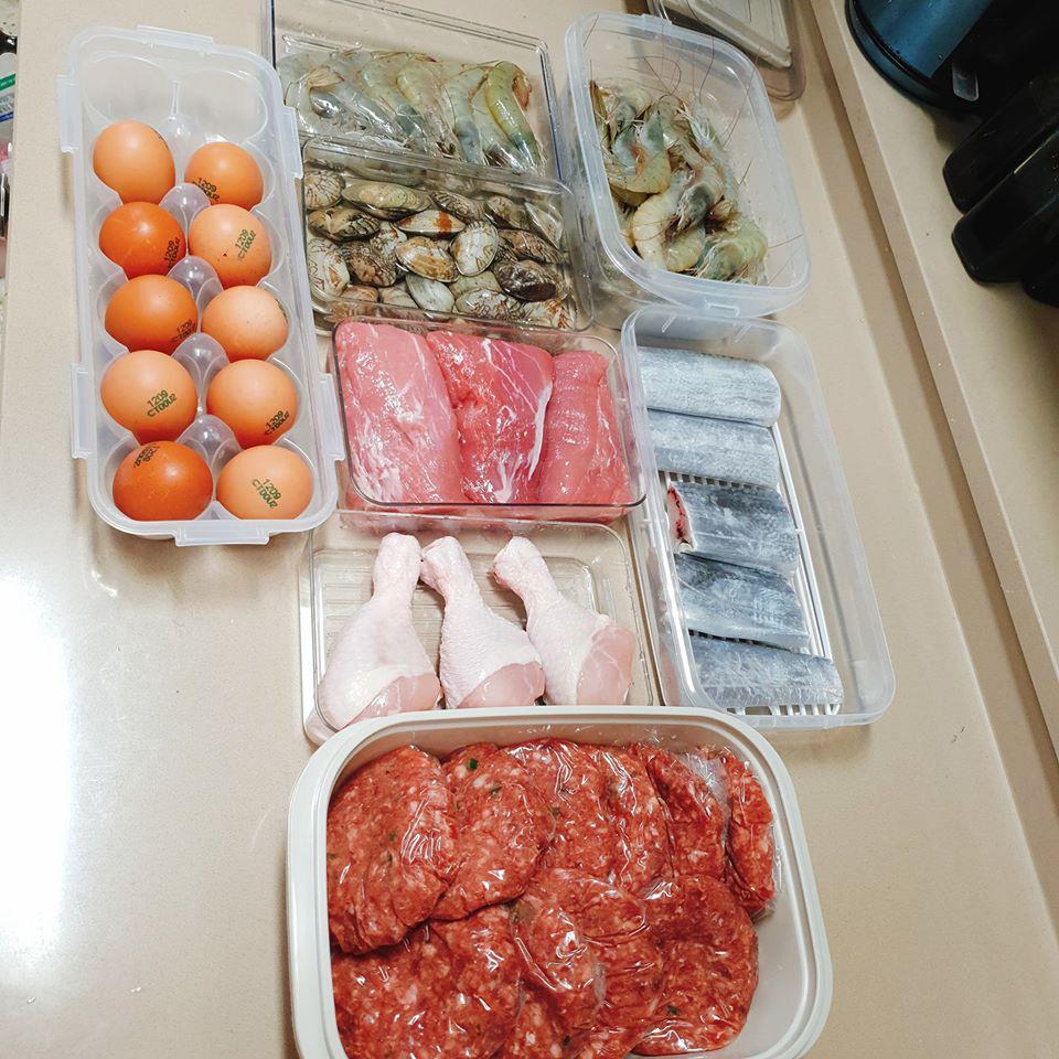 Cô nàng học thói quen trữ đồ ăn của người Hàn và biến chúng thành tác phẩm nghệ thuật.