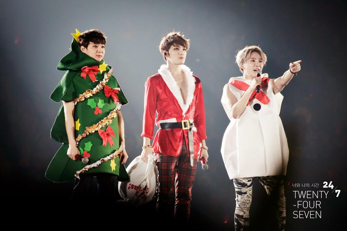 Idol Hàn lên đồ Giáng Sinh: Orange Caramel đi vào huyện thoại; gây sốc nhất là Jinhwan, Jonghyun - Ảnh 5.