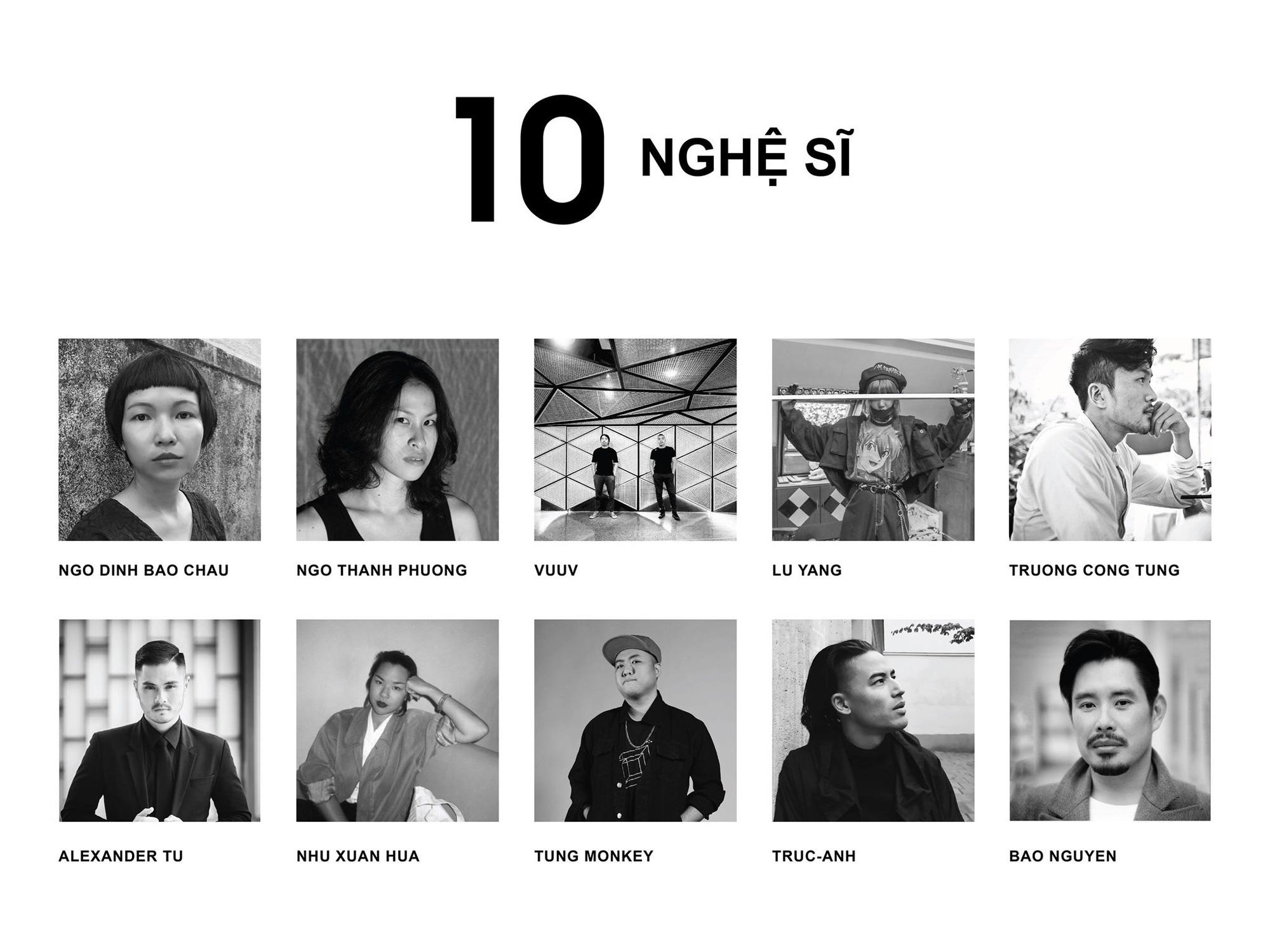"""Hé lộ danh tính 10 nghệ sĩ đồng hành cùng NTK Công Trí trong Triển lãm Thời trang - Nghệ thuật """"Cục Im Lặng""""  - Ảnh 2."""