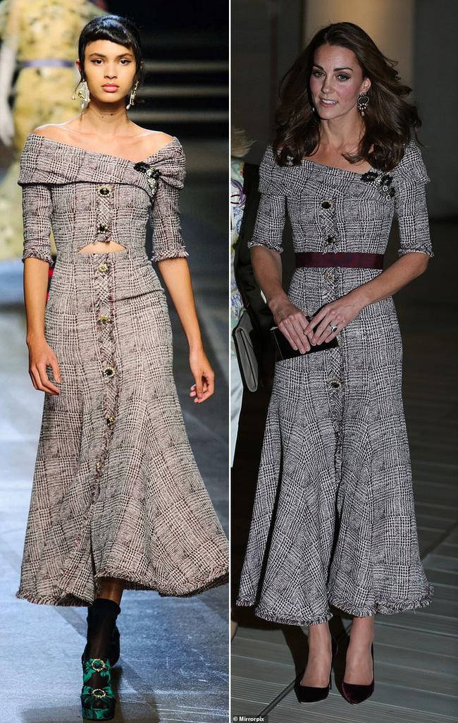 Để tránh tình huống hớ hênh khi mặc váy hở ngực, Công nương Kate khéo léo chỉnh sửa lại thiết kế trước khi diện - Ảnh 8.