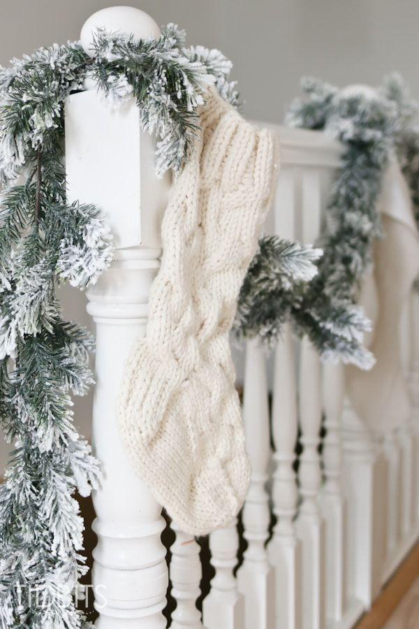 Mang vẻ đẹp hoàn hảo cho cầu thang dịp Giáng sinh nhờ lựa chọn đồ trang trí đúng điệu - Ảnh 11.